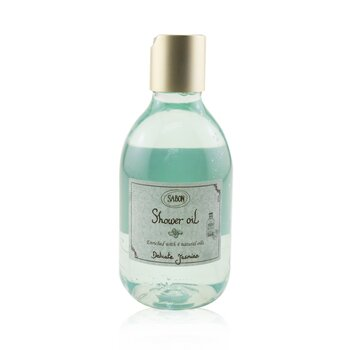 Sabon Shower Oil - Delicate Jasmine (Plastic Bottle)
