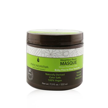 Macadamia Natural Oil Professional Weightless Repair Masque (Baby Fine to Fine Textures)
