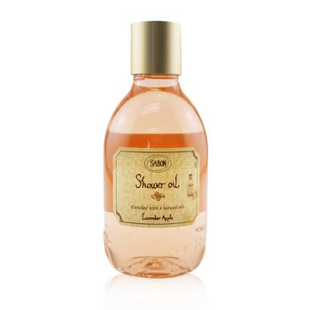 Sabon Shower Oil - Lavender Apple (Plastic Bottle)