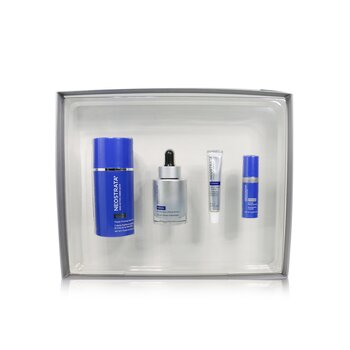 Neostrata Skin Active Lift + Firm Kit: Neck Cream + Serum + Dermal Replenishment + Retinol Repair Complex
