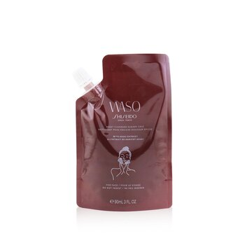 Shiseido Waso Reset Cleanser Sugary Chic (With Azuki Extract) - For Face