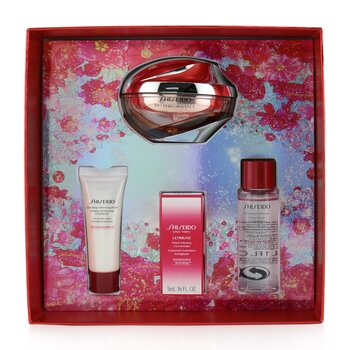 Shiseido Beauty Blossoms Bio-Performance LiftDynamic Cream Set: LiftDynamic Cream 50ml + Cleansing Foam 15ml + Softener 30ml + Ultimune Concentrate 5ml