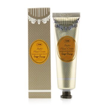 Sabon Butter Hand Cream - Ginger Orange
