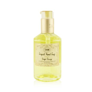 Sabon Liquid Hand Soap - Ginger Orange