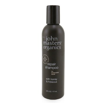 John Masters Organics Repair Shampoo For Damaged Hair with Honey & Hibiscus