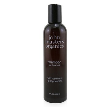 John Masters Organics Shampoo For Fine Hair with Rosemary & Peppermint