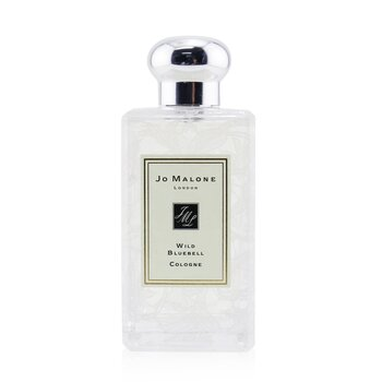 Jo Malone Wild Bluebell Cologne Spray With Daisy Leaf Lace Design (Originally Without Box)