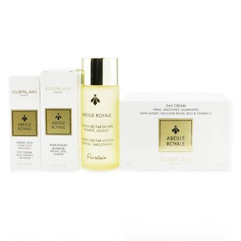 Guerlain Abeille Royale Age-Defying Programme (Set of Cream, Lotion, Oil, Eye Cream & Bag)