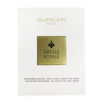 Guerlain Abeille Royale Age-Defying Programme (Set of Oil, Lotion, Eye Care & Cream)