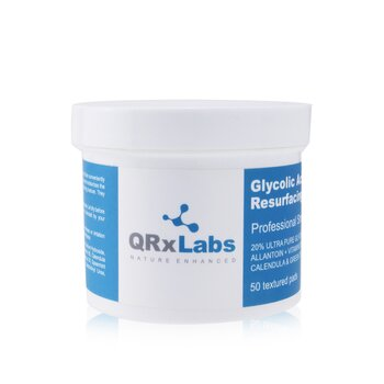QRxLabs Glycolic Acid 20% Resurfacing Pads