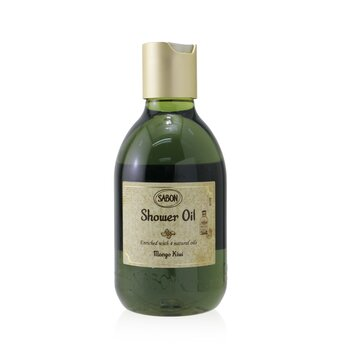 Sabon Shower Oil - Mango Kiwi (Plastic Bottle)
