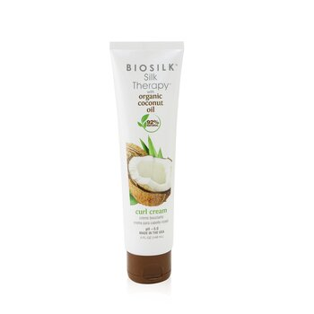 BioSilk Silk Therapy with Coconut Oil Curl Cream