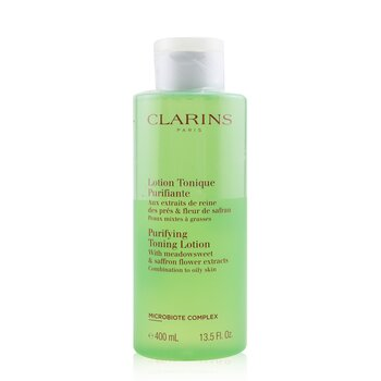 Clarins Purifying Toning Lotion with Meadowsweet & Saffron Flower Extracts - Combination to Oily Skin
