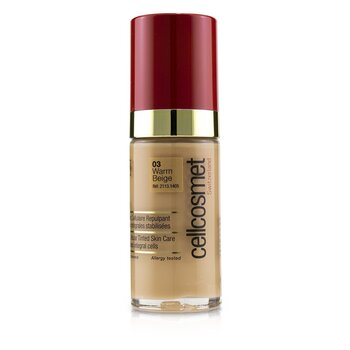 Cellcosmet CellTeint Plumping Cellular Tinted Skincare - #03 Warm Beige