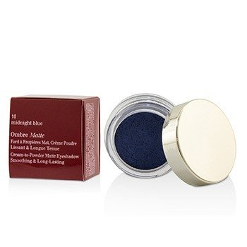 Clarins Ombre Matte Eyeshadow - #10 Midnight Blue