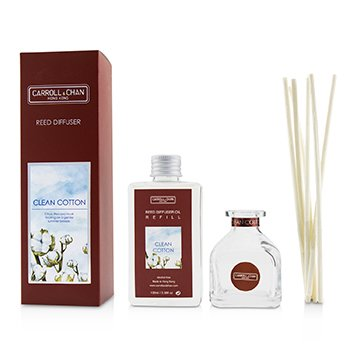 The Candle Company (Carroll & Chan) Reed Diffuser - Clean Cotton