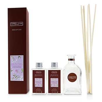 The Candle Company (Carroll & Chan) Reed Diffuser - Jasmine, Rose & Cranberry