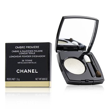 Chanel Ombre Premiere Longwear Powder Eyeshadow - # 38 Titane (Metallic)