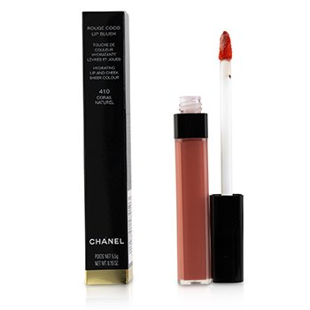 Chanel Rouge Coco Lip Blush Hydrating Lip And Cheek Colour - # 410 Corail Naturel