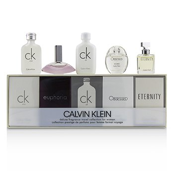 Calvin Klein Miniature Coffret: CK One EDT 10ml + Euphoria EDP 4ml + CK All EDT 10ml + Obsessed EDP 5ml + Eternity EDP 5ml