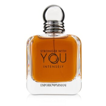 Giorgio Armani Emporio Armani Stronger With You Intensely Eau De Parfum Spray (Box Slightly Damaged)