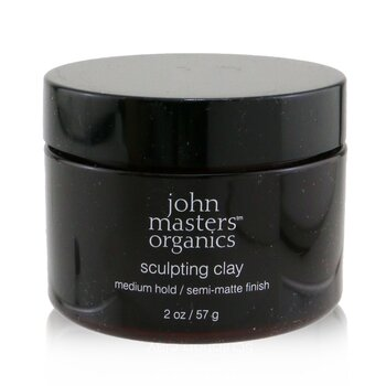John Masters Organics Sculpting Clay (Medium Hold/ Semi-Matte Finish)