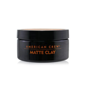 American Crew Men Matte Clay (Pilable Hold with Matte Finish)